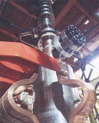 SPES, lower plenum del canale di potenza
