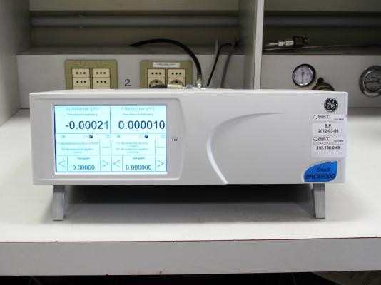 Calibratore di pressione - Campione di lavoro