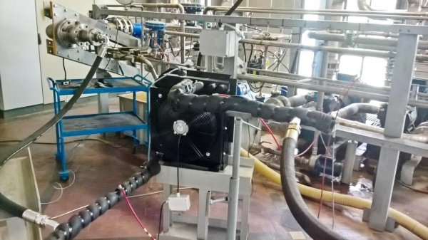 Prove su scambiatore di calore aria acqua