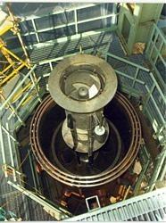 Separatore di vapore in prova sull'impianto GEST.