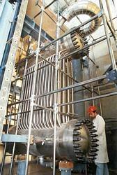 Prototipo di scambiatore di calore Ansaldo per Centrale Nucleare in prova presso SIET