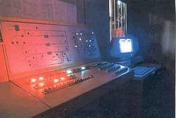 Sala controllo dell'impianto VALFRE