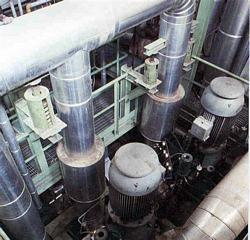 Impianto sperimentale GEST, pompe di ricircolo