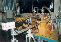 Dispositivo a video camera veloce per la visualizzazione del fenomeno fisico